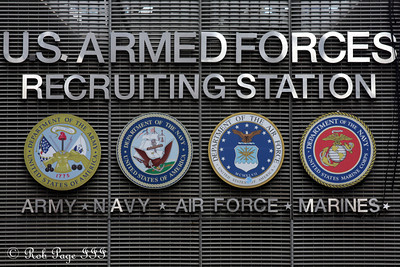 Armed Forces Recruiting Station - New York, NY ... September 11, 2011 ... Photo by Rob Page III