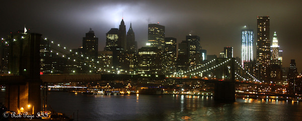 From the Manhattan Bridge - New York, NY ... September 11, 2011 ... Photo by Rob Page III