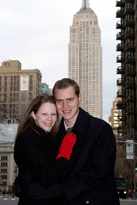 Rob and Emily in NYC - New York, NY ... November 29, 2008 ... Photo by Jen Addair