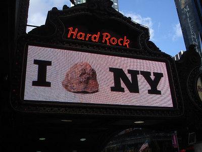 Hard Rock Cafe - New York, NY ... November 10, 2005 ... Photo by Rob Page III