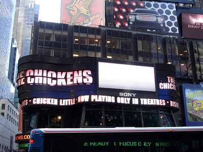 Times Square - New York, NY ... November 10, 2005 ... Photo by Rob Page III