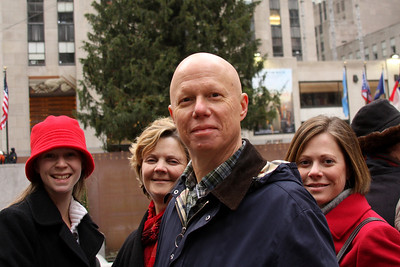 The Congers at Rockefeller Center - New York, NY ... November 27, 2008 ... Photo by Rob Page III