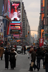 Times Square - New York, NY ... November 27, 2008 ... Photo by Rob Page III
