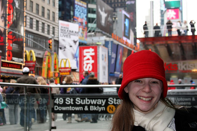 Hanging out in the city - New York, NY ... November 27, 2008 ... Photo by Rob Page III