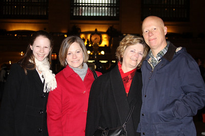 The Congers in Grand Central Station - New York, NY ... November 27, 2008 ... Photo by Rob Page III