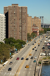 Up the east side of Manhattan - New York, NY ... September 19, 2009 ... Photo by Rob Page III