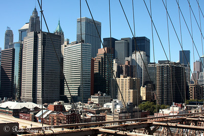 Lower Manhattan from the Brooklyn Bridge - New York, NY ... September 19, 2009 ... Photo by Rob Page III