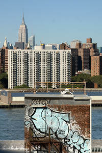 The Empire State Building from the Manhattan Bridge - New York, NY ... September 19, 2009 ... Photo by Rob Page III