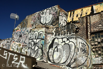 New York graffiti - New York, NY ... September 19, 2009 ... Photo by Rob Page III