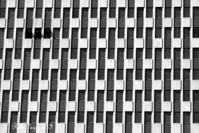 Geometric windows - New York, NY ... September 19, 2009 ... Photo by Rob Page III