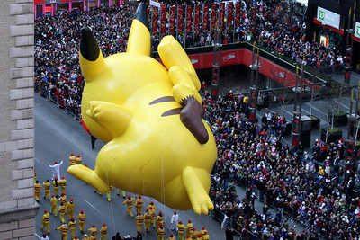 There goes Pikachu - New York, NY ... November 27, 2008 ... Photo by Rob Page III