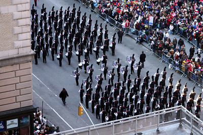 One of the marching bands - New York, NY ... November 27, 2008 ... Photo by Rob Page III