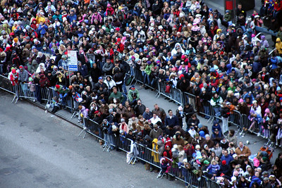 The crowds along Broadway - New York, NY ... November 27, 2008 ... Photo by Rob Page III