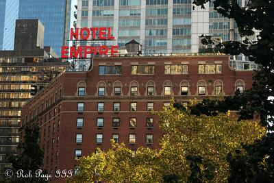 The Hotel Empire - New York, NY ... September 20, 2009 ... Photo by Rob Page III