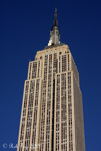 The Empire State Building - New York, NY ... November 28, 2008 ... Photo by Rob Page III