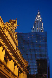The Chrysler Building rises above Grand Central Station - New York, NY ... December 16, 2006 ... Photo by Rob Page III