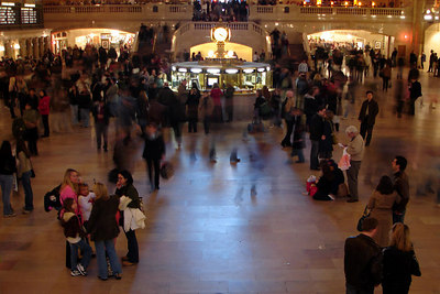 Grand Central Station - New York, NY ... December 16, 2006 ... Photo by Rob Page III