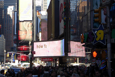 Times Square - New York, NY ... December 16, 2006 ... Photo by Rob Page III