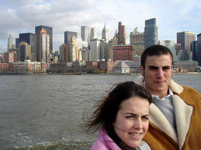 Christine and Pedro - New York, NY ... January 5, 2006 ... Photo by Rob Page III