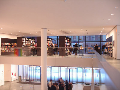 Inside the MOMA - New York, NY ... January 4, 2006 ... Photo by Rob Page III