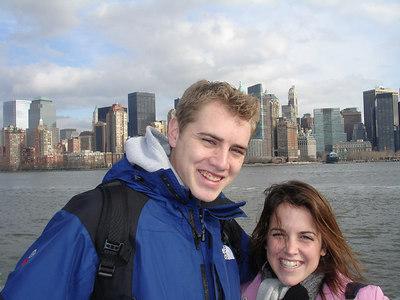 Rob and Christine - New York, NY ... January 5, 2006 ... Photo by Pedro Mendoza