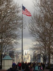 Liberty Island - New York, NY ... January 5, 2006 ... Photo by Rob Page III