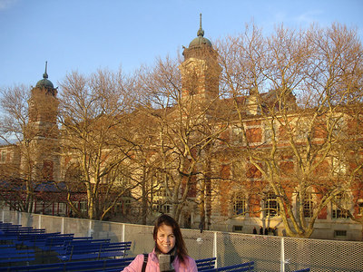 Christine and the Ellis Island Museum - New York, NY ... January 5, 2006 ... Photo by Rob Page III