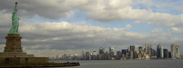 New York City and the Statue of Liberty - New York, NY ... January 5, 2006 ... Photo by Rob Page III