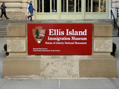 Ellis Island - New York, NY ... January 5, 2006 ... Photo by Rob Page III