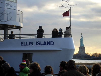 Ellis Island and the Statue of Liberty - New York, NY ... January 5, 2006 ... Photo by Rob Page III