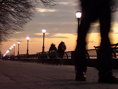 Along the water - New York, NY ... January 4, 2006 ... Photo by Rob Page III