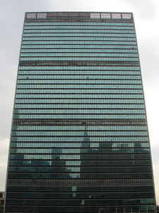 The United Nations Building - New York, NY ... January 2, 2006 ... Photo by Rob Page III