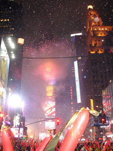 Happy New Year! - New York, NY ... January 1, 2006 ... Photo by Rob Page III