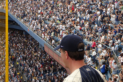 The Yankees fans - New York, NY ... June 10, 2007 ... Photo by Rob Page III