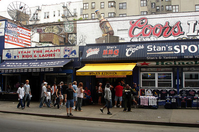 Outside Yankee Stadium - New York, NY ... June 10, 2007 ... Photo by Rob Page III