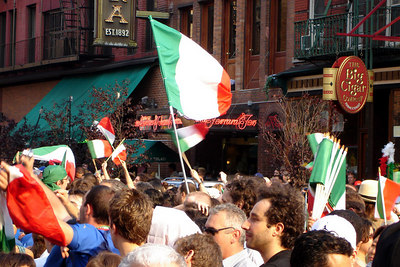 World Cup Final - Little Italy - July 2006