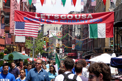 Little Italy - New York, NY ... July 9, 2006 ... Photo by Rob Page III