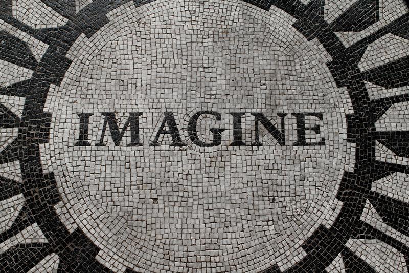 NYC Central Park Imagine Mosaic
