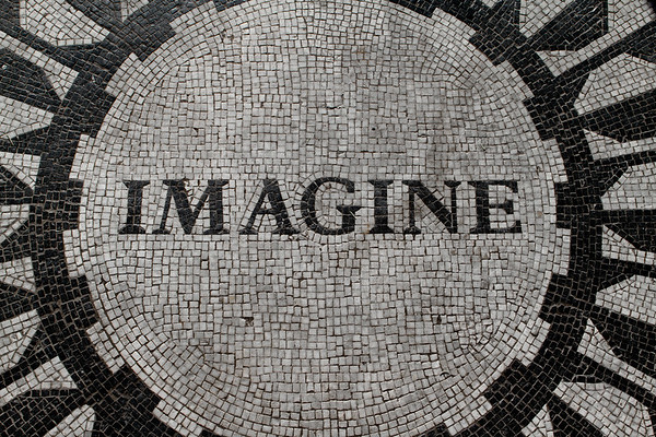 NYC Central Park Imagine Mosaic