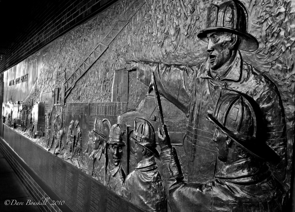 Black-White-911-Memorial- New York City