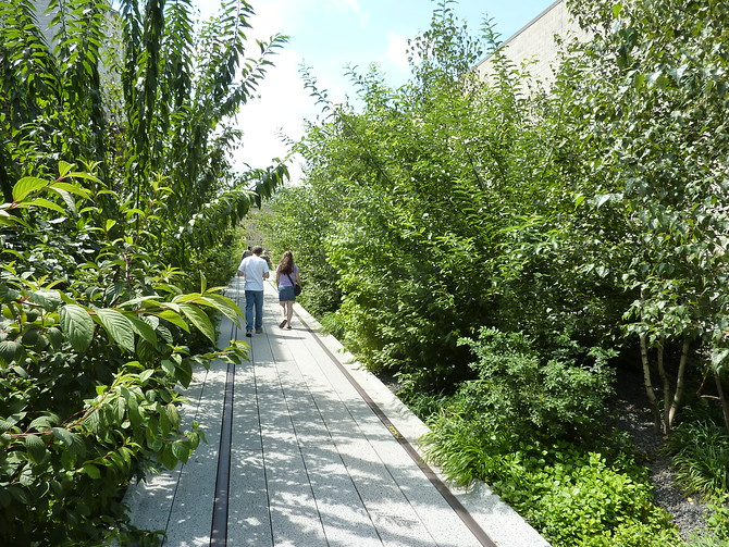 The High Line Old Railway Line
