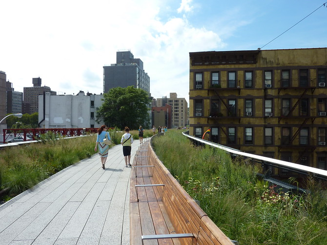 The High Line walkway