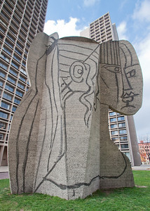 Picasso sculpture, New York