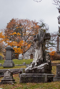 Creepy headstone—Sleepy Hollow Cemetery, Sleepy Hollow, New York