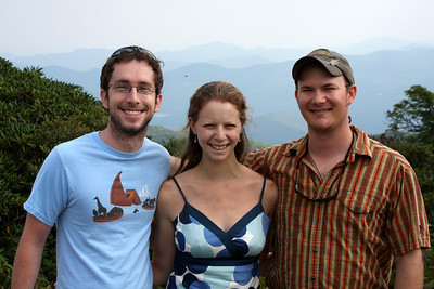Mike, Emily, and Jay - Asheville, NC ... August 9, 2008 ... Photo by Rob Page III