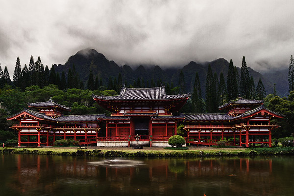 Byodo-In Japanese Temple, Oahu