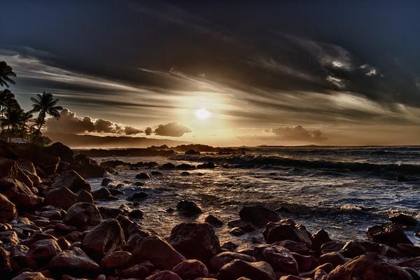 O'ahu North Shore Sunset