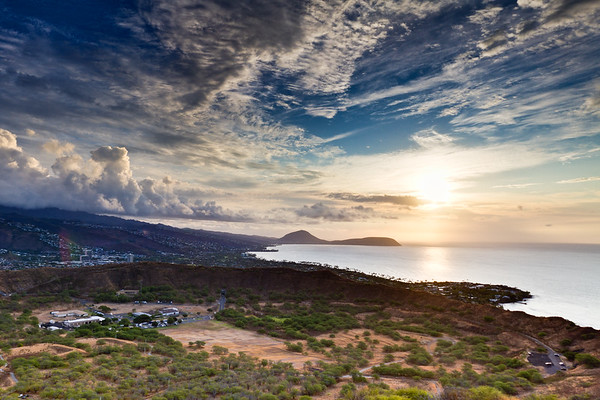Diamond Head Crater Sunrise