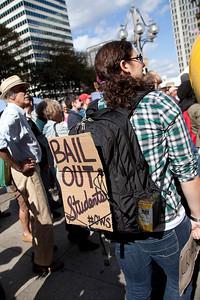 Occupy Protest, City Hall, Philadelphia