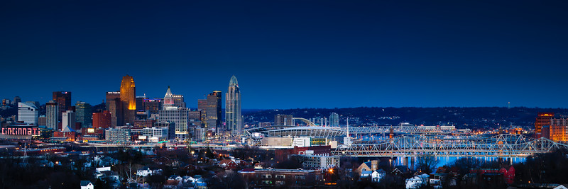 Week 7 - Cincy Skyline Pano